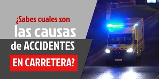 CAUSAS DE ACCIDENTES DE AUTO EN CARRETERA